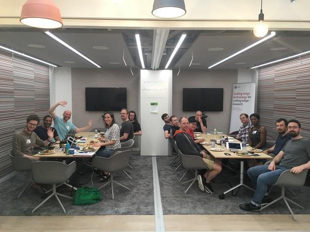 Mozilla Sprint London event