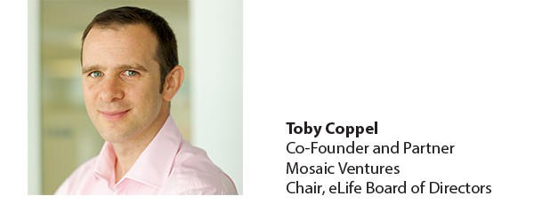Toby Coppel, Co-Founder and Partner Mosaic Ventures