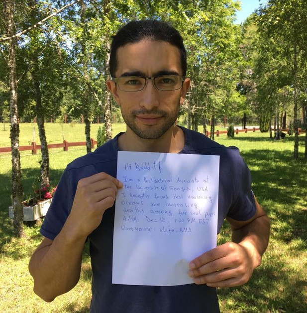 Mauricio Seguel advertises his Reddit IAmA