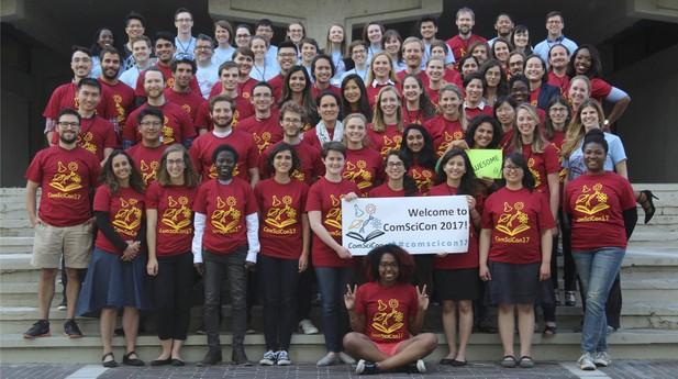 The participants of ComSciCon 2017.