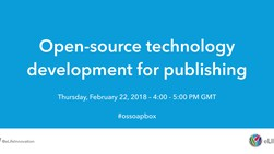 Open-source technology development for publishing