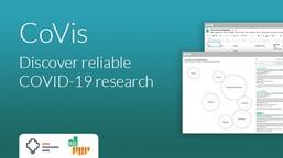 CoVis: discover relibale COVID-19 research