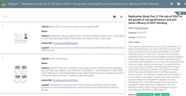 Screenshot of ReFigure.org website