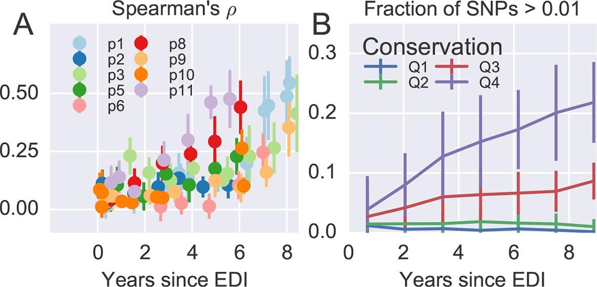 Population genomics of intrapatient HIV-1 evolution | eLife