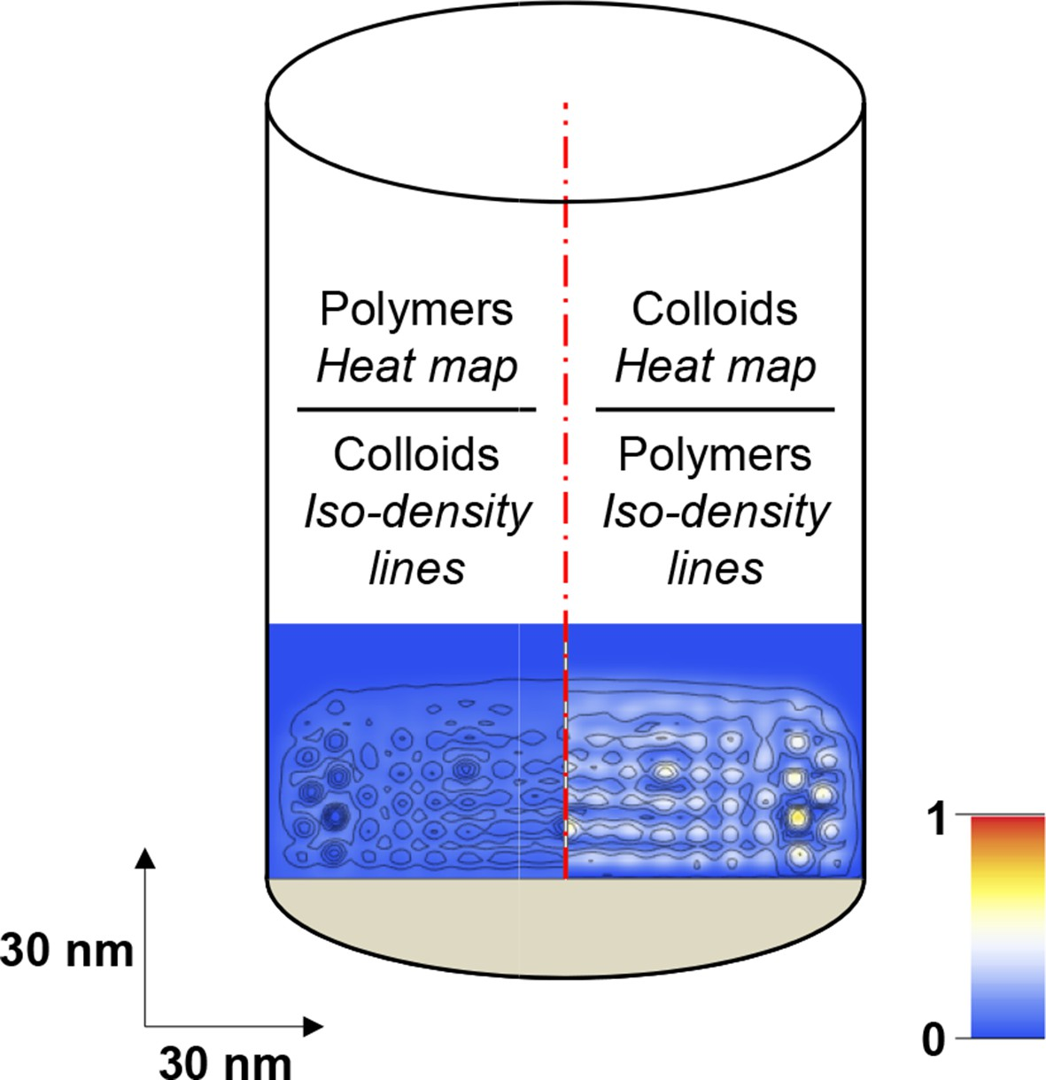 A Physical Model Describing The Interaction Of Nuclear Transport Brush Real Techniques Ori Usa Import Scheme Illustrating How Computational Modeling Data Is Presented In Form Maps Polymer And Colloid Packing Fractions
