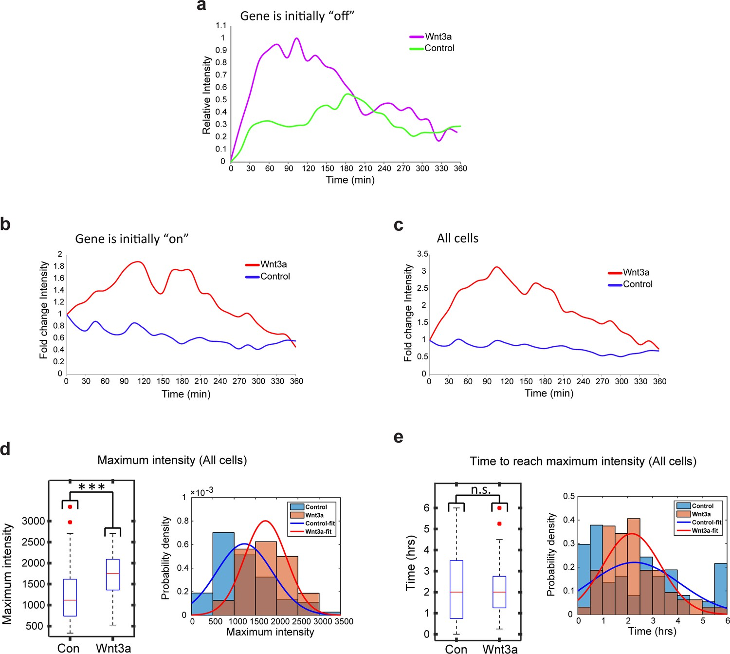 Quantifying β-catenin subcellular dynamics and cyclin D1