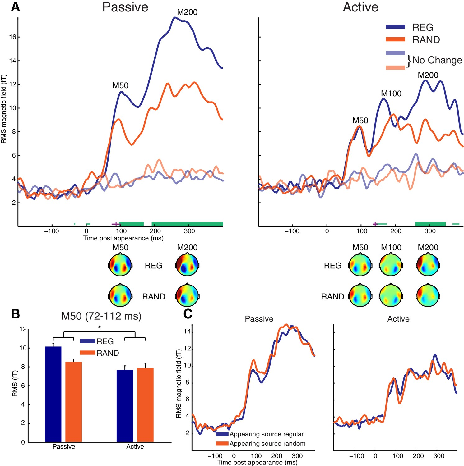 Detecting And Representing Predictable Structure During Auditory Passive Tone Control A Network Permits The Listener To Appearance Evoked Response