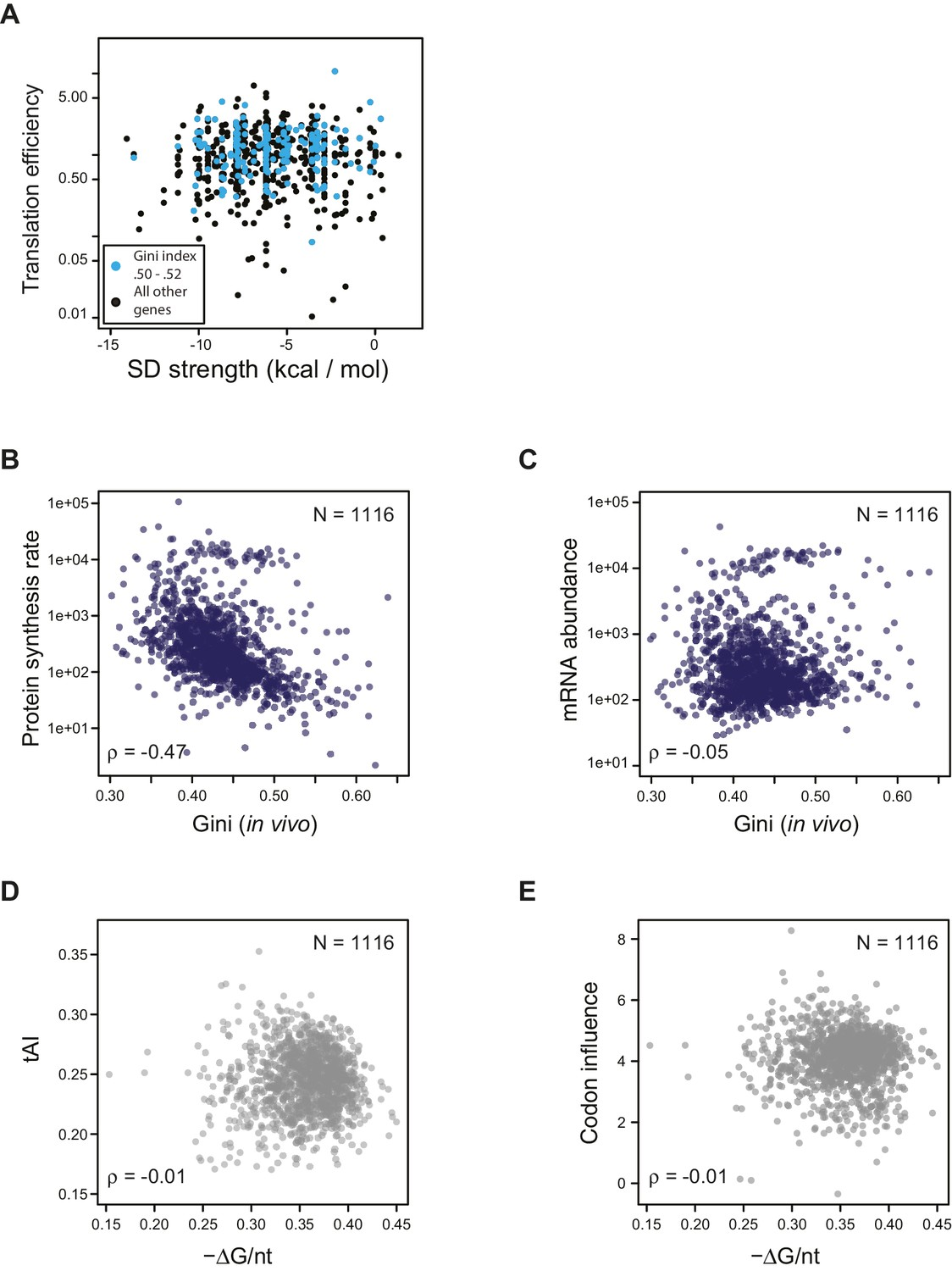 Operon mRNAs are organized into ORF-centric structures that predict