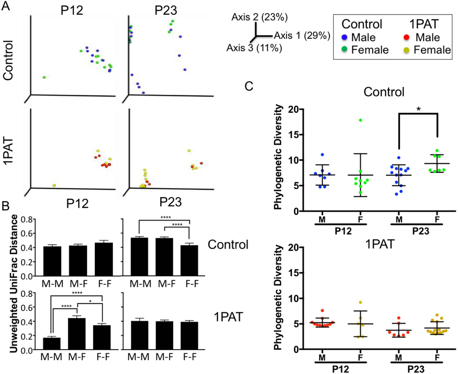 Antibiotic-induced acceleration of type 1 diabetes alters