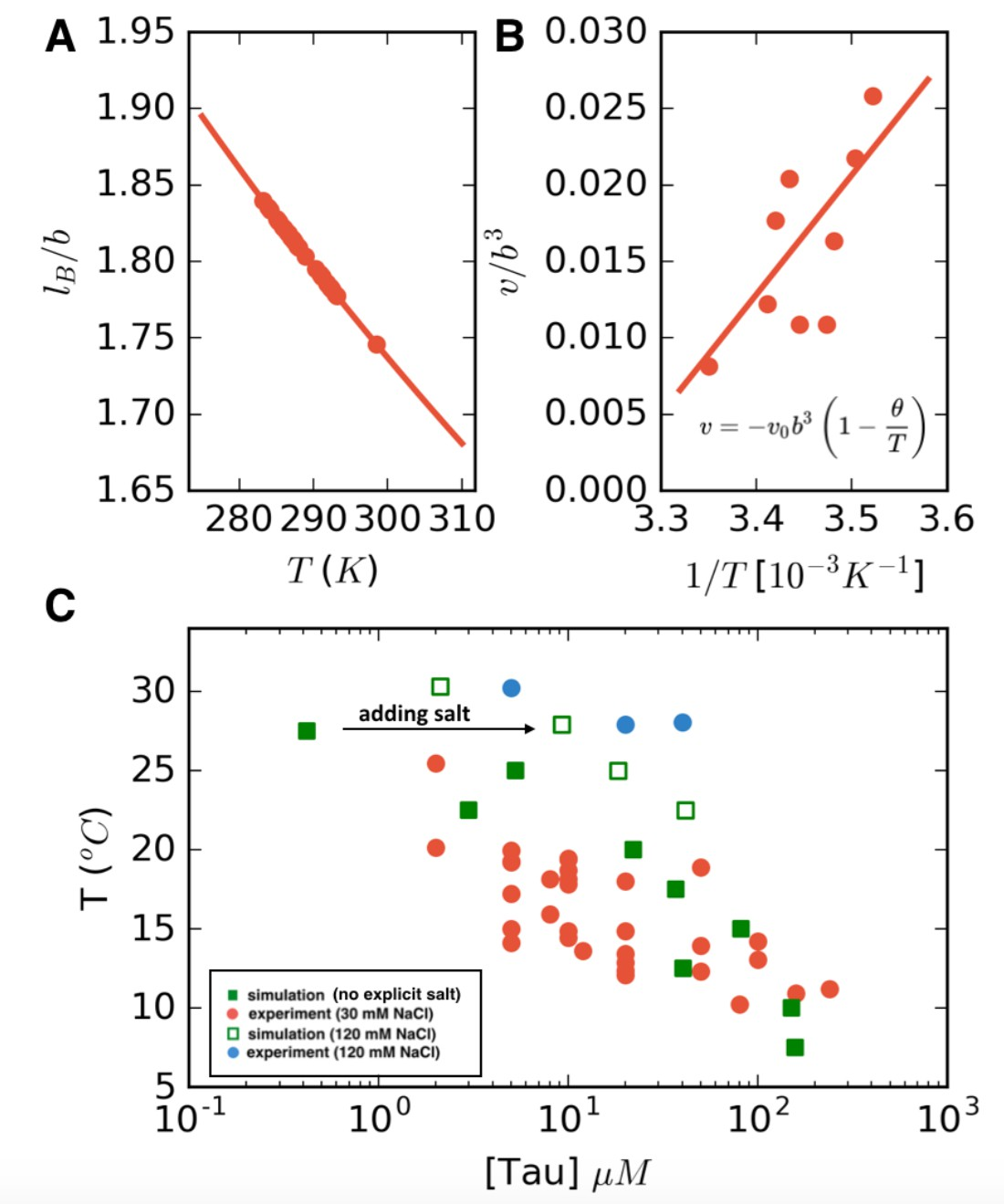 Narrow equilibrium window for complex coacervation of tau