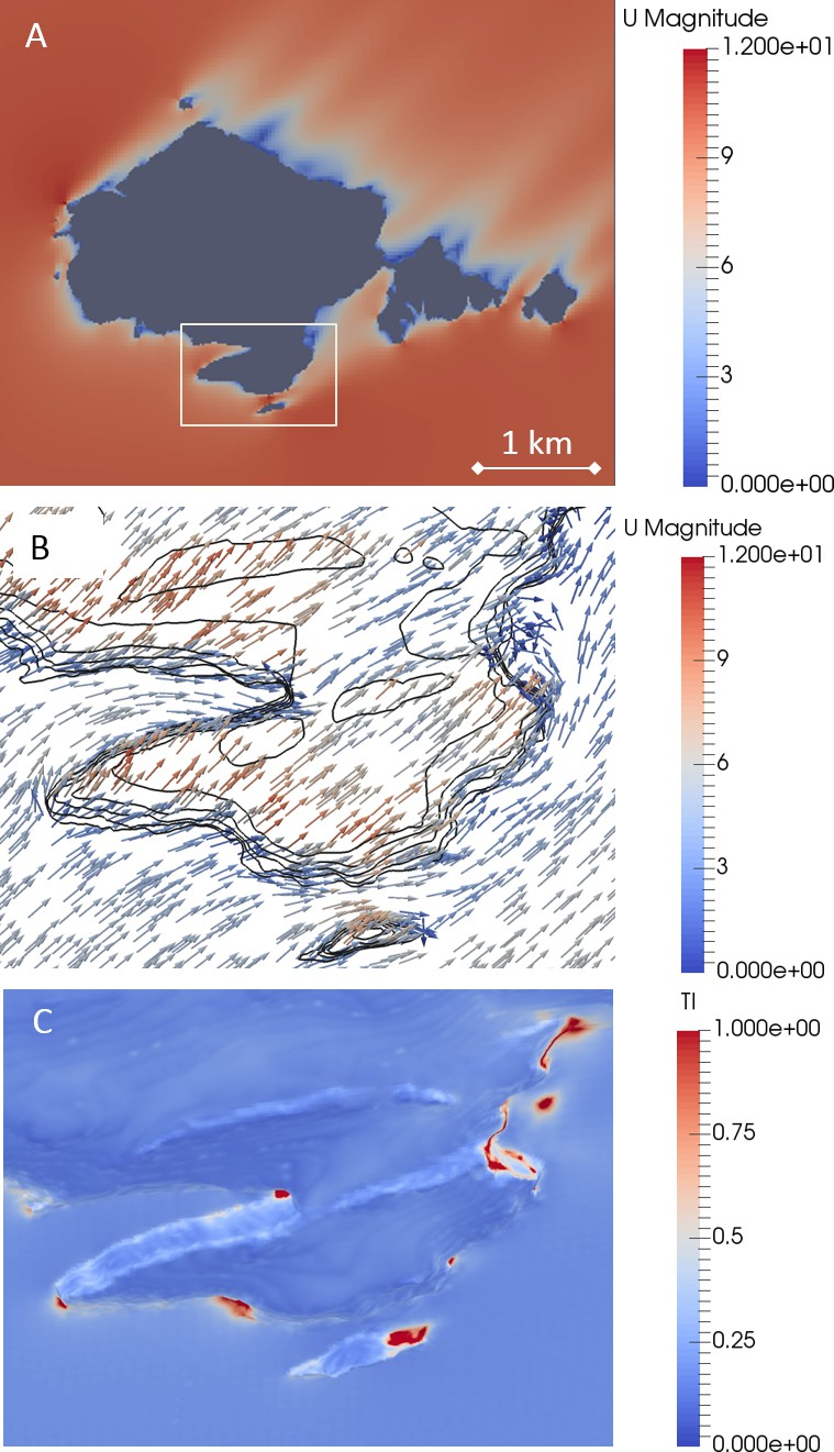Figures and data in Wind prevents cliff-breeding birds from
