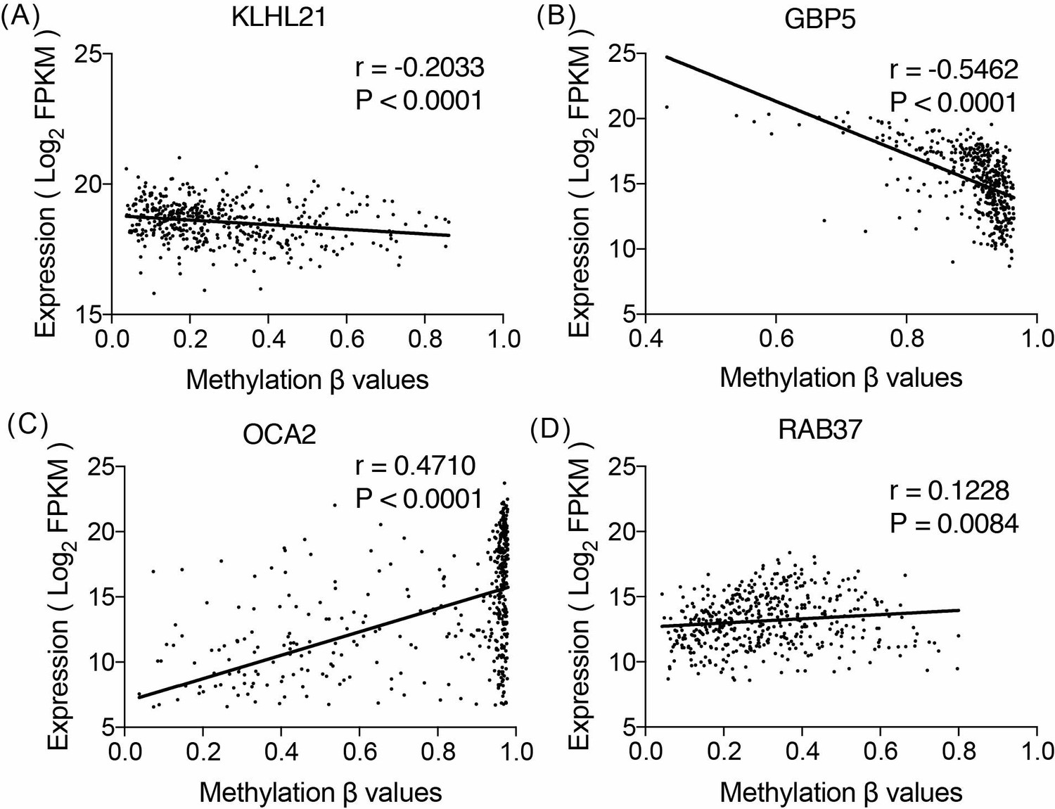 A four-DNA methylation biomarker is a superior predictor of survival